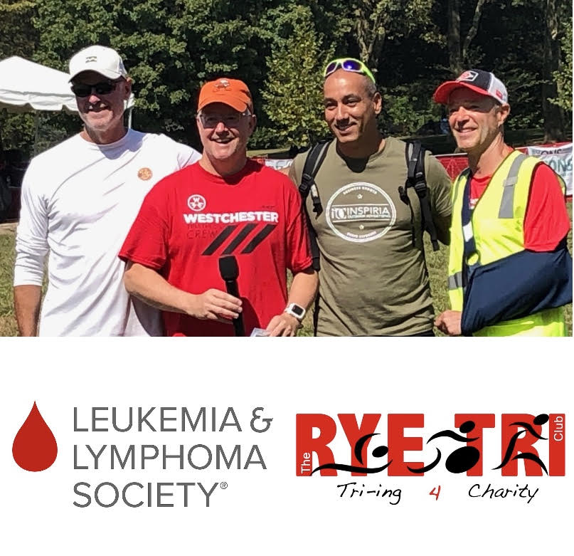 Rye Tri Club Donates $3,000 To Fight Leukemia!