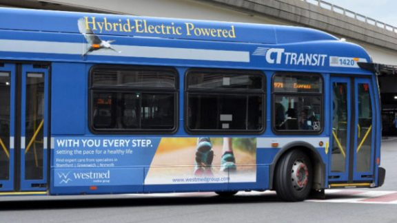 Westmed Medical Group Bus Advertising