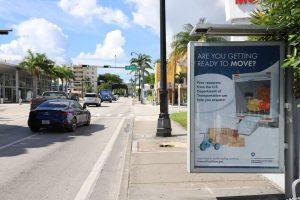 Miami Bus Shelter Advertising