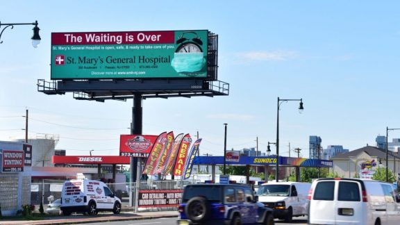NJ Digital Billboard St Mary's General Hospital
