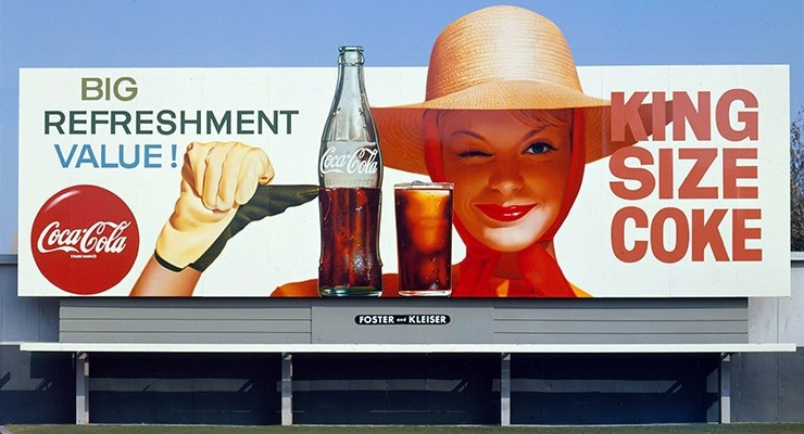 Coca-Cola First Billboard Advertising