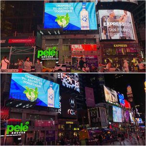 Don Q Rum Times Square Billboard Advertising