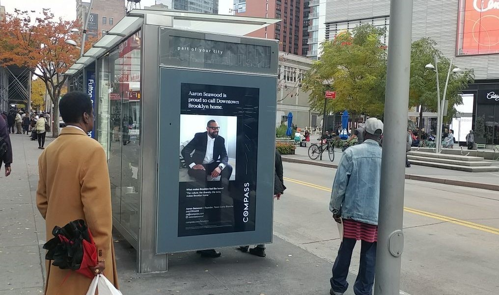 Real Estate Bus Shelter Advertising