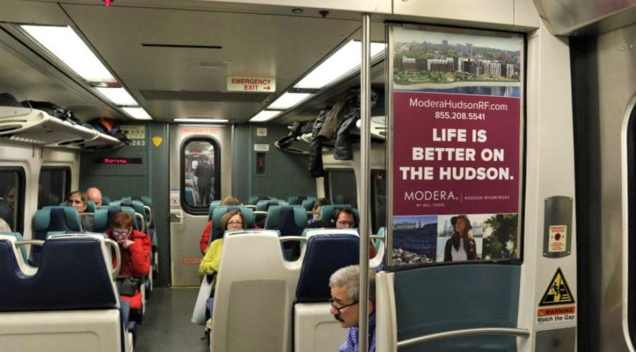 Rail Interior Real Estate Advertising