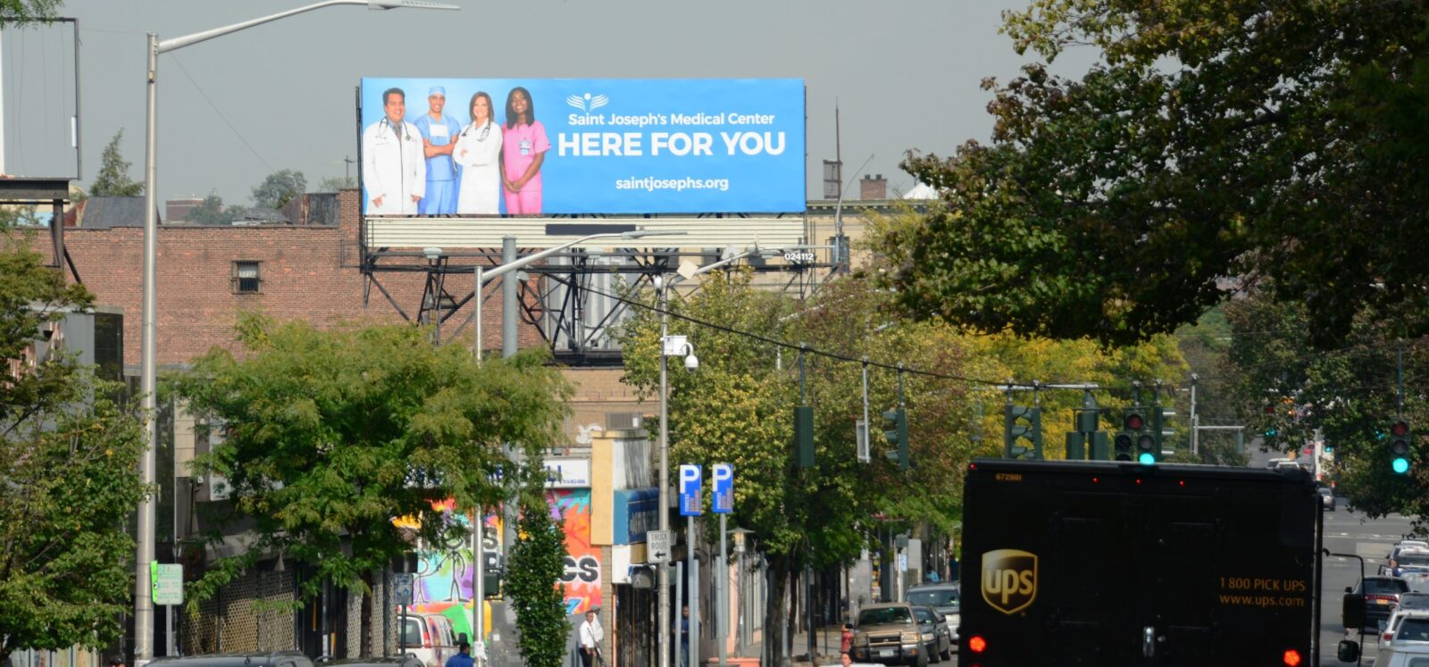 St Josephs Healthcare Billboard Advertising