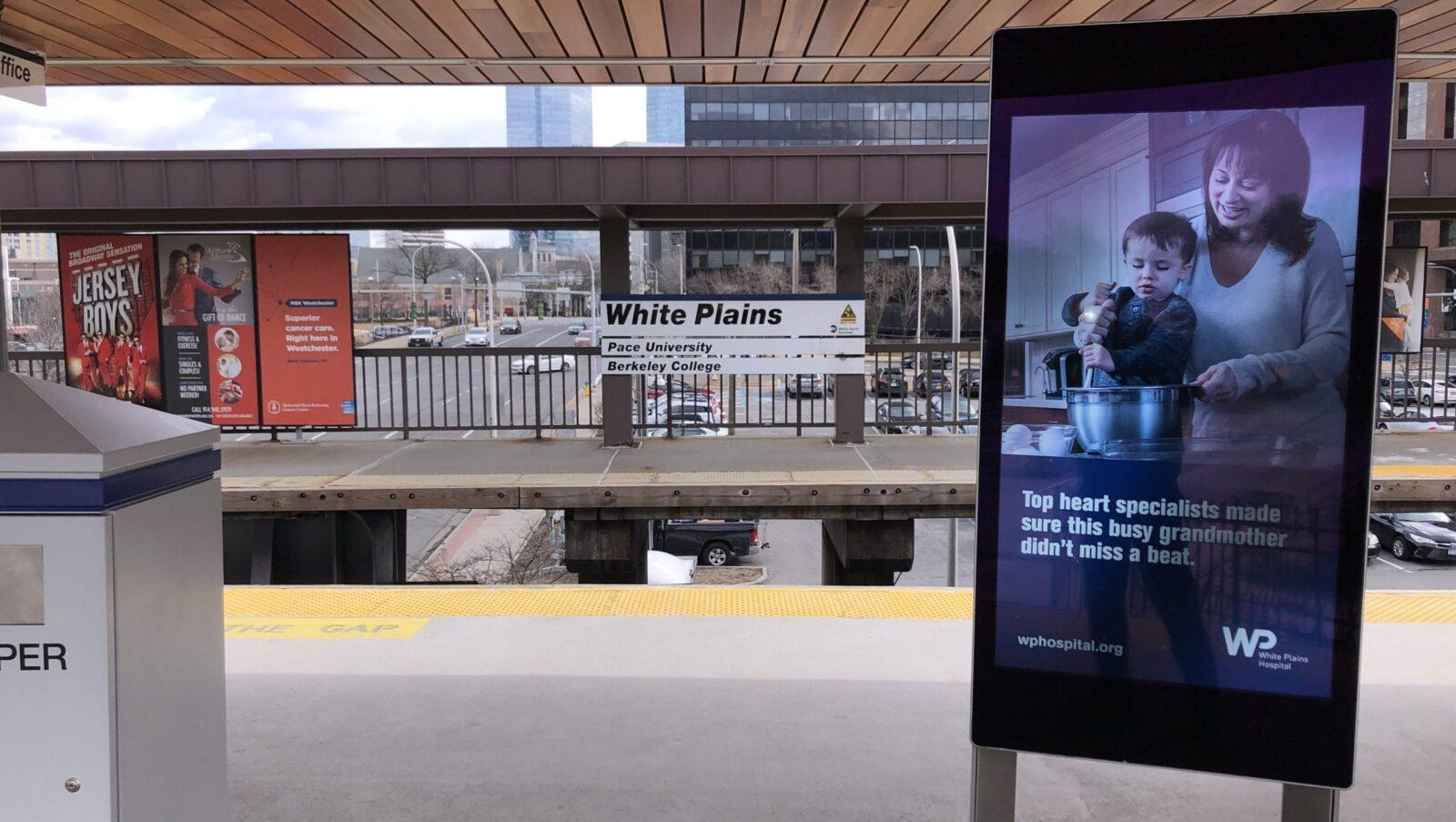 Healthcare Rail Platform Digital Advertising
