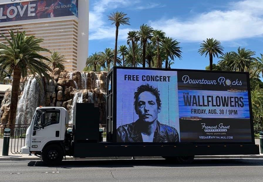 Las Vegas Digital Mobile Billboard Advertising