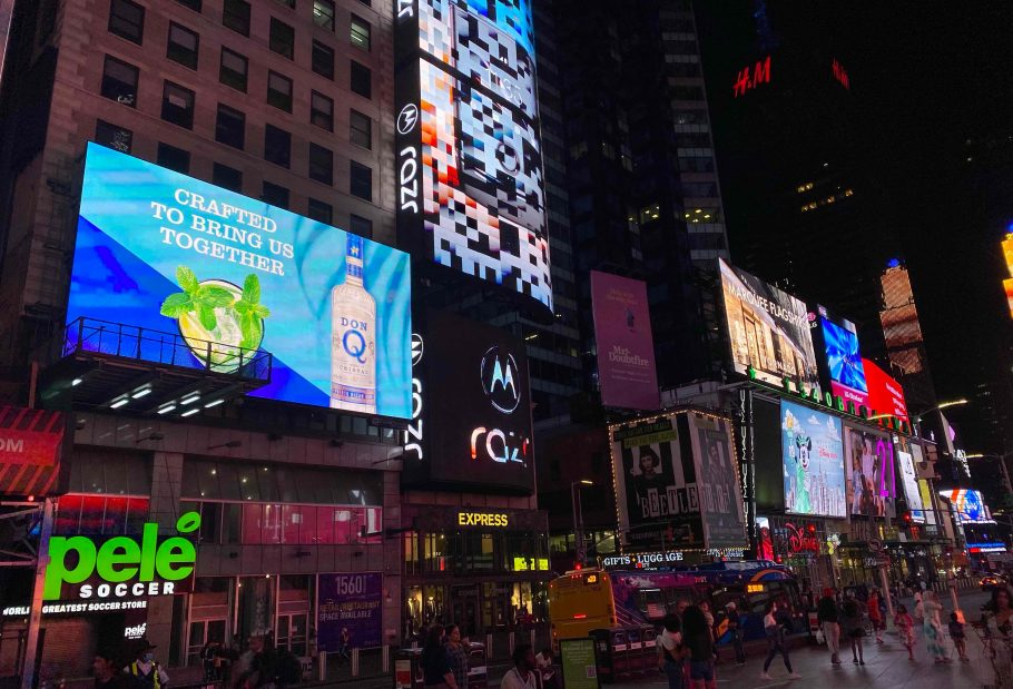 Times Square Digital Billboard Advertising Unit # 128