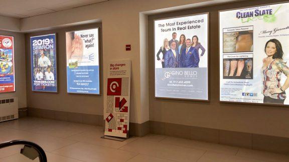 Gino Bello City Center White Plains Mall Advertising