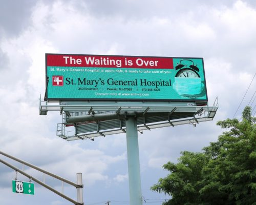St Mary's Digital Billboard Advertising