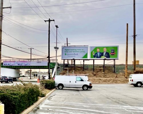 Investors Bank 30 Sheet Billboard Campaign