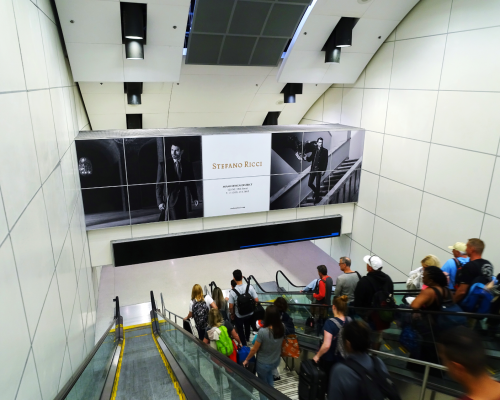 Stefano Ricci MIA Airport Advertising