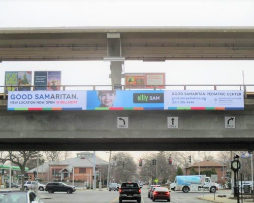 Good Samaritan Hospital Bridge Trestle Advertising