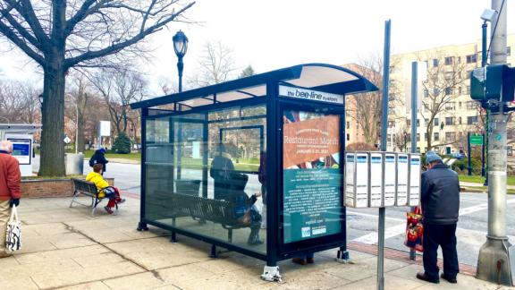 White Plains BID Bus Shelter Advertising