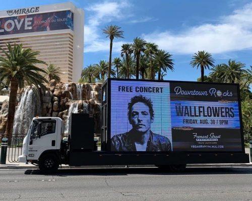 Digital Mobile Billboard Advertising