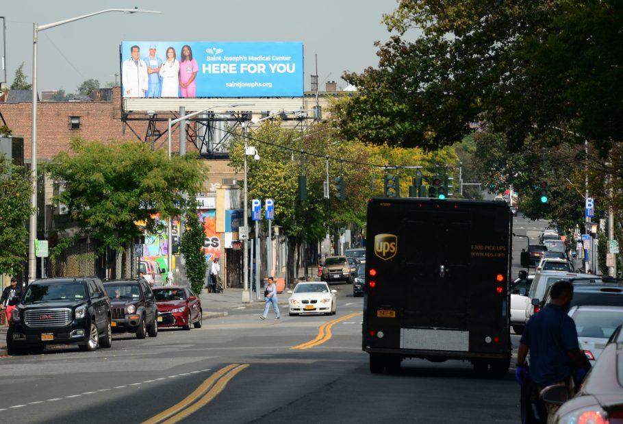 St Josephs Hospital Billboard Advertising