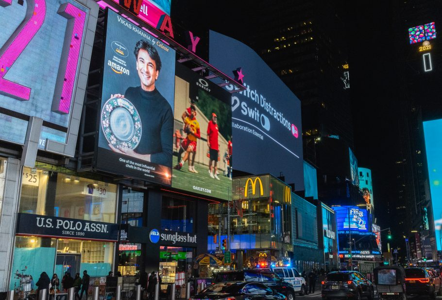 NYC Times Square Digital Billboard Advertising