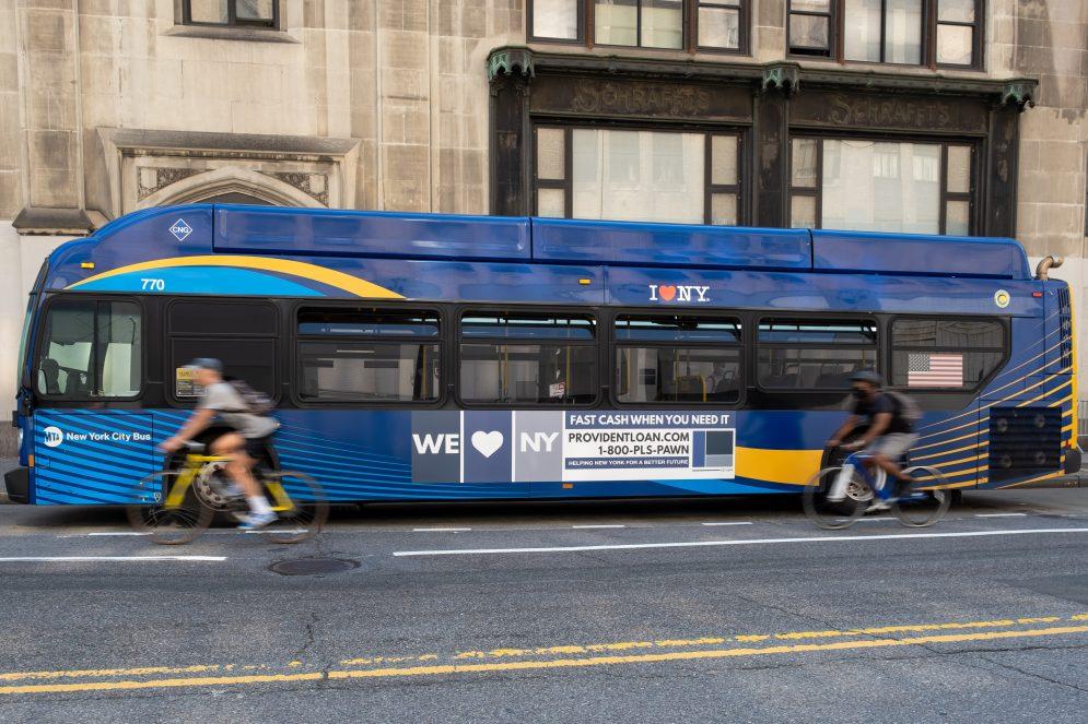 NYC Bus King Advertising