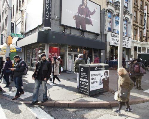 Solar Recycling Kiosk Advertising