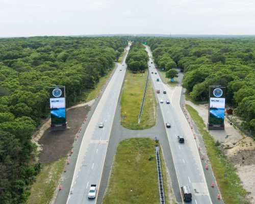 The Hamptons Twin Billboards