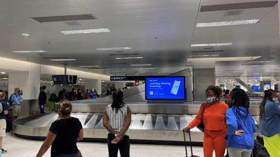 Miami Airport OOH Advertising